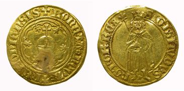 King Sigismund, florin. Imperial mint of Dortmund.