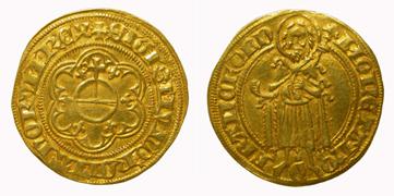 König Sigismund, Gulden. Reichsmünzstätte Frankfurt am Main.