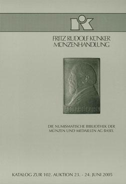 Die numismatische Bibliothek der Münzen und Medaillen AG Basel