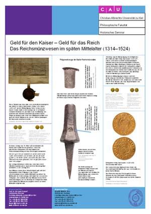 Poster Geld für den Kaiser - Geld für das Reich