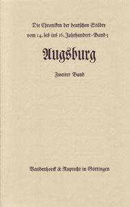 Städtechroniken, Augsburg, Band 2