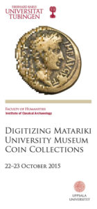 Digitizing Matariki University Museum Coin Collections
